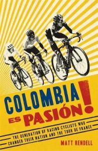 Columbia es pasiòn! on a bookshelf