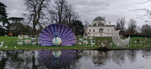 View of Chiswick House & Gardens
