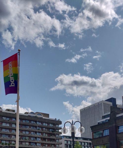 View of Barbican Centre