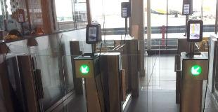 photo of an e-Gate at Dublin airport